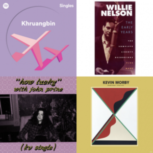 River House Daze Morning music playlist with 4 album covers in grid